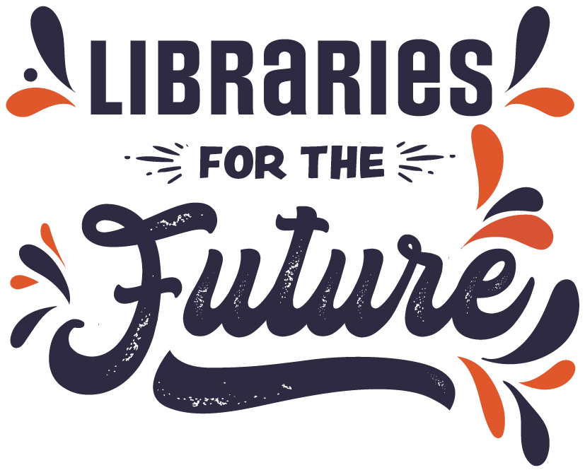 Libraries for the future logo