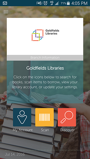 Goldfields Libraries Catalogue App - Spydus   Goldfields Library