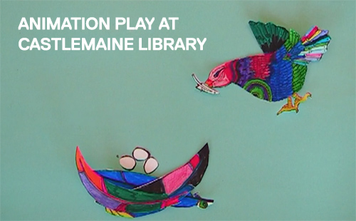 Animation Play at Castlemaine Library