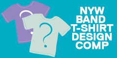 Band t-shirt design competition